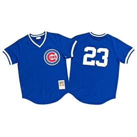 Chicago Cubs Ryne Sandberg 1984 Batting Practice Jersey