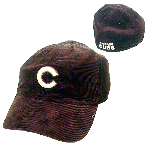 Chicago Cubs Corduroy Chocolate Franchise Cap