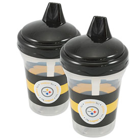 Pittsburgh Steelers 2 Pack of Sippy Cups