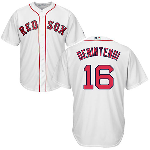 Boston Red Sox Andrew Benintendi Home Cool Base Replica Jersey e86fda11f26