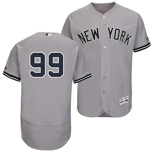 New York Yankees Aaron Judge Road Flexbase Authentic Collection Jersey 7905037cabc
