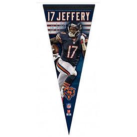 Chicago Bears Alshon Jeffery Premium Pennant