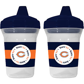 Chicago Bears 2 Pack of Sippy Cups