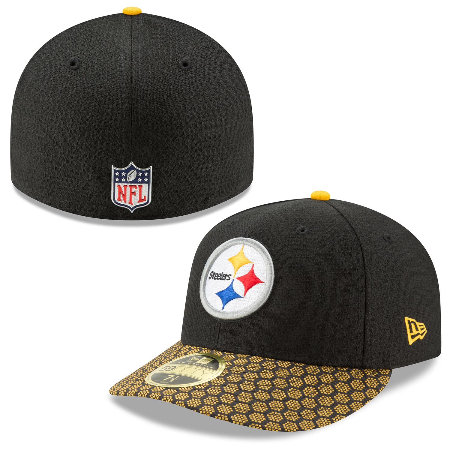 Pittsburgh Steelers 2017 Sideline Official Low Profile 59FIFTY Fitted Cap