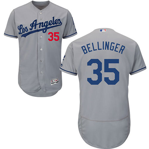 Los Angeles Dodgers Cody Bellinger Road Flexbase Authentic Collection Jersey 48e17bc8490
