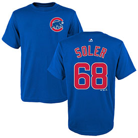 Chicago Cubs Jorge Soler Youth Name and Number T-Shirt