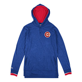 Chicago Cubs Seal the Win Hooded Long Sleeve T-Shirt
