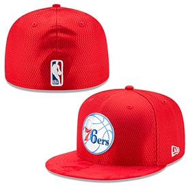 Philadelphia 76ers Red Core On-Court 59FIFTY Fitted Cap
