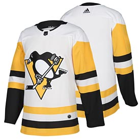 Pittsburgh Penguins adidas Road Authentic Blank Jersey