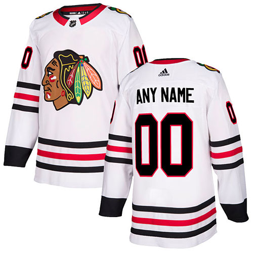 best loved 42058 64be2 Chicago Blackhawks adidas Customized Road Authentic Jersey
