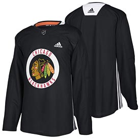 Chicago Blackhawks adidas Authentic Road Practice Jersey