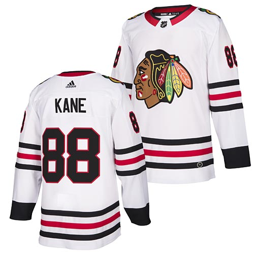 check out a0896 5a05d Chicago Blackhawks Patrick Kane adidas Road Authentic Jersey