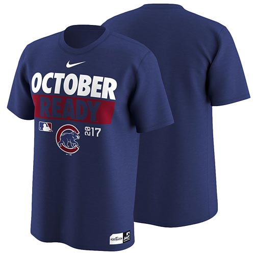 quality design 0189f 329a5 Chicago Cubs Nike 2017 October Ready Legend T-Shirt
