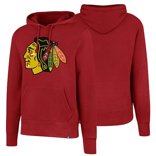 more photos 1b24b ae6d7 Chicago Blackhawks Headline Pullover Hooded Sweatshirt