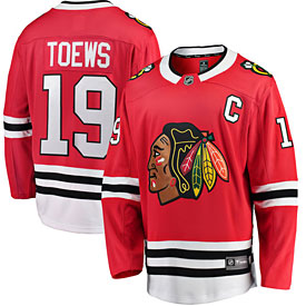 Chicago Blackhawks Jonathan Toews Breakaway Home Jersey