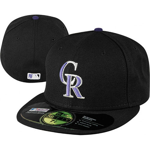 Colorado Rockies Authentic Game Performance 59FIFTY On-Field Cap 201acc2258c