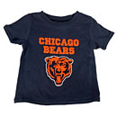 Chicago Bears Infant Bear Head Primary Logo T-Shirt