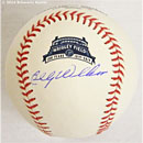 Chicago Cubs Billy Williams Signed Rawlings Wrigley Field 100th Anniversary Baseball