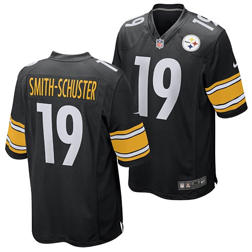 new arrival 035f0 67e3b Pittsburgh Steelers JuJu Smith-Schuster Game Team Color Jersey