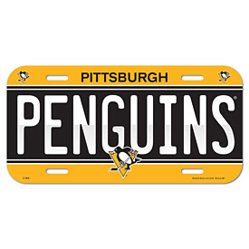 Pittsburgh Penguins License Plate