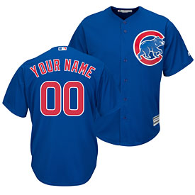27d64786370 Chicago Cubs Customized Alternate Replica Cool Base Jersey