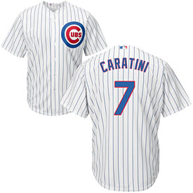 Chicago Cubs Victor Caratini Home Cool Base Replica Jersey