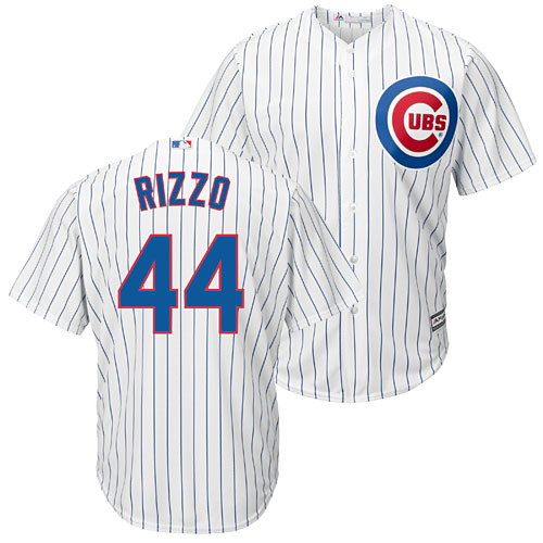 pretty nice 12315 66c6e Chicago Cubs Anthony Rizzo Home Cool Base Replica Jersey