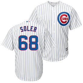 Chicago Cubs Jorge Soler Home Cool Base Replica Jersey