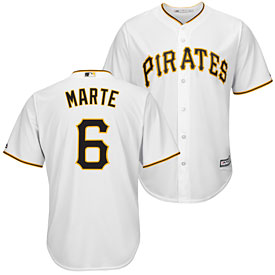 Pittsburgh Pirates Starling Marte Home Cool Base Replica Jersey