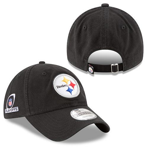 Pittsburgh Steelers 2017 Playoffs Patch Adjustable Cap 868e567ec