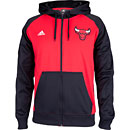 Chicago Bulls Pregame Full-Zip Hooded Sweatshirt