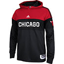 Chicago Bulls On Court Shooter Long Sleeve Hooded T-Shirt