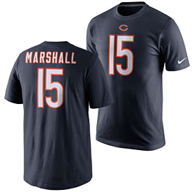 Chicago Bears Brandon Marshall Pride Name and Number T-Shirt