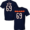 Chicago Bears Jared Allen Youth Name and Number T-Shirt