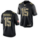 Chicago Bears Brandon Marshall Salute to Service Limited Jersey