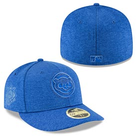 Chicago Cubs 2018 Clubhouse Low Profile 59FIFTY Fitted Cap
