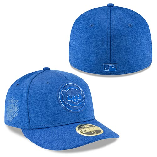 4faacfeb39c Chicago Cubs 2018 Clubhouse Low Profile 59FIFTY Fitted Cap