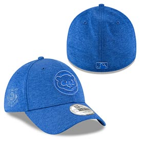 Chicago Cubs 2018 Clubhouse 39THIRTY Flex Fit Cap
