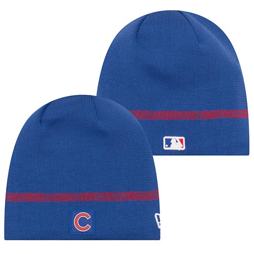 Chicago Cubs Youth 2018 Clubhouse Skull Knit Hat
