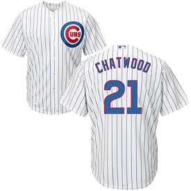 Chicago Cubs Tyler Chatwood Home Cool Base Replica Jersey