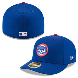 Chicago Cubs On-Field Batting Practice 59FIFTY Low Profile Fitted Cap
