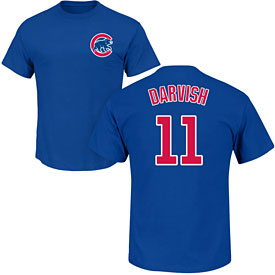 Chicago Cubs Yu Darvish Youth Name and Number T-Shirt