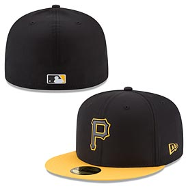 Pittsburgh Pirates 2018 On-Field Prolight Batting Practice 59FIFTY Fitted Cap