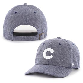 Chicago Cubs Emery Chambray Clean up Adjustable Cap