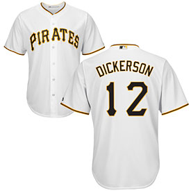 Pittsburgh Pirates Corey Dickerson Home Cool Base Replica Jersey