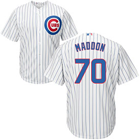 Chicago Cubs Joe Maddon Home Cool Base Replica Jersey