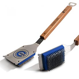 Chicago Cubs Sportula Classic Grill Brush