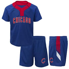 Chicago Cubs Preschool Ground Rules Shorts Set