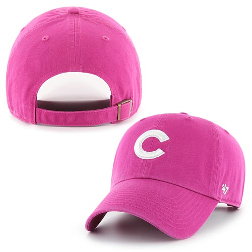 8199555a405 Chicago Cubs Ladies Orchid Cleanup Adjustable Cap