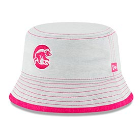 Chicago Cubs Infant Girls Walking Bear Shadowed Tot Bucket Hat